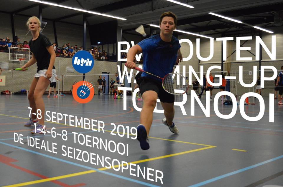 Inschrijving Warming-Up Toernooi 2019 open
